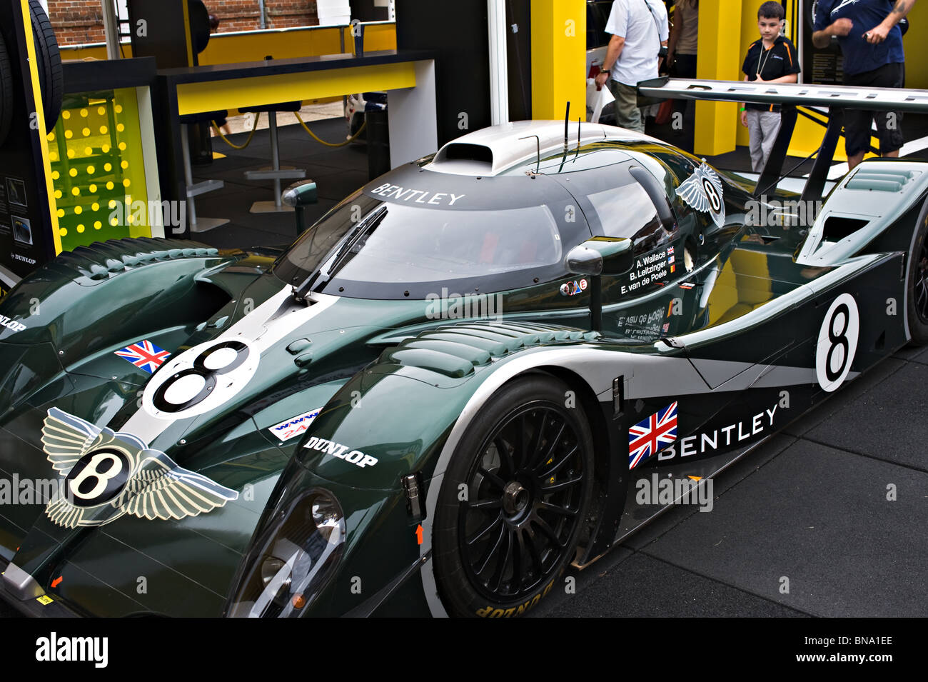 Bentley Speed 8 Le Mans Sports Racing Car At Goodwood Festival Of