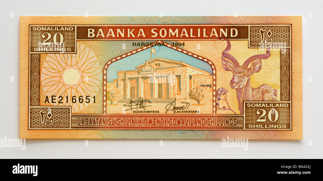 Somaliland Currency High Resolution Stock Photography And Images Alamy