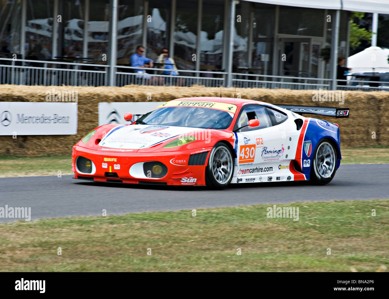 Good Ferrari 430 GT2 Sports Racing Car At Goodwood Festival Of Speed West Sussex  England United Kingdom