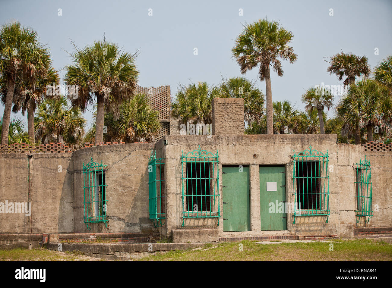 Atalaya Castle A Historic Mansion In Huntington Beach State Park Once Stock Photo Alamy