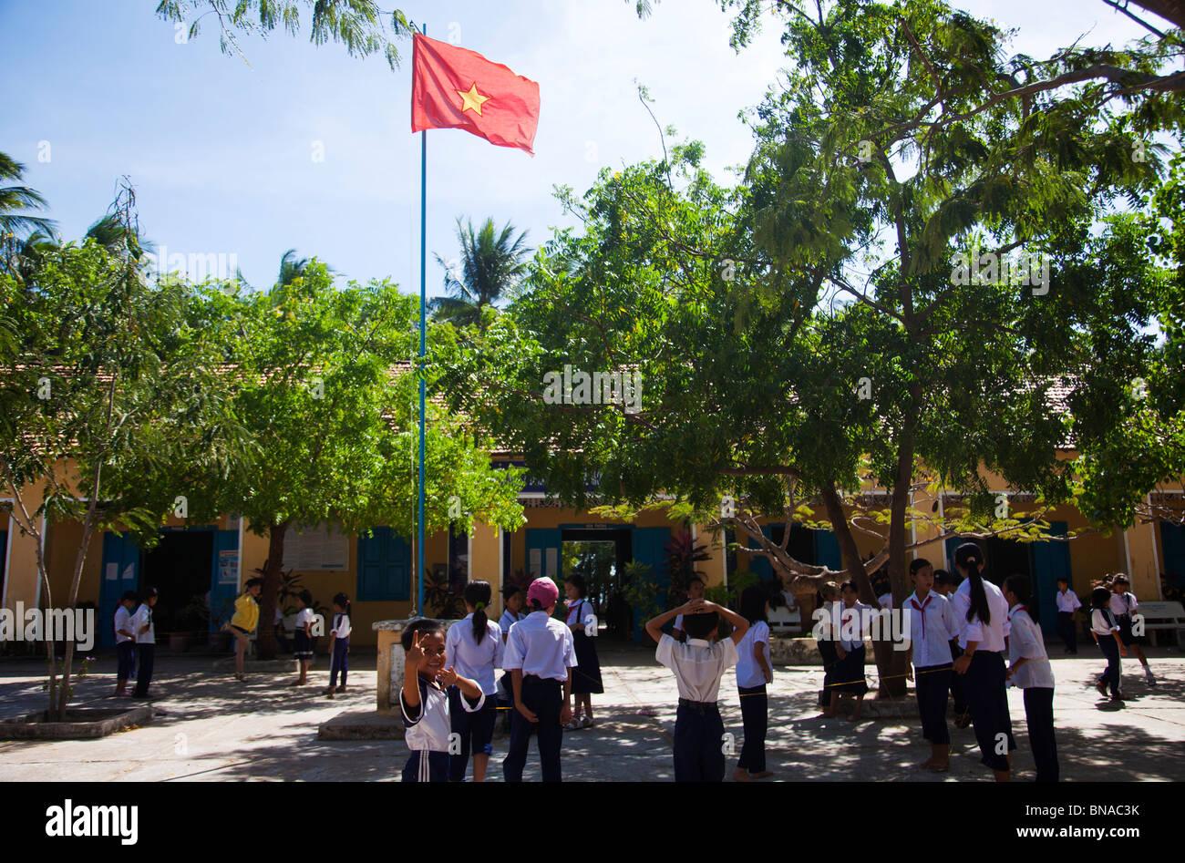 Vietnam schoolchildren - Stock Image
