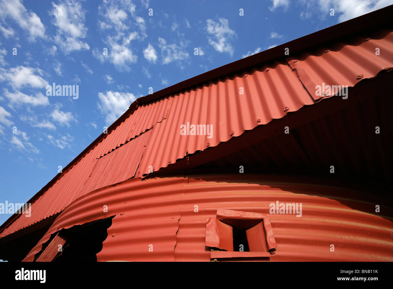 Red Tin Roof Stock Photos Amp Red Tin Roof Stock Images Alamy