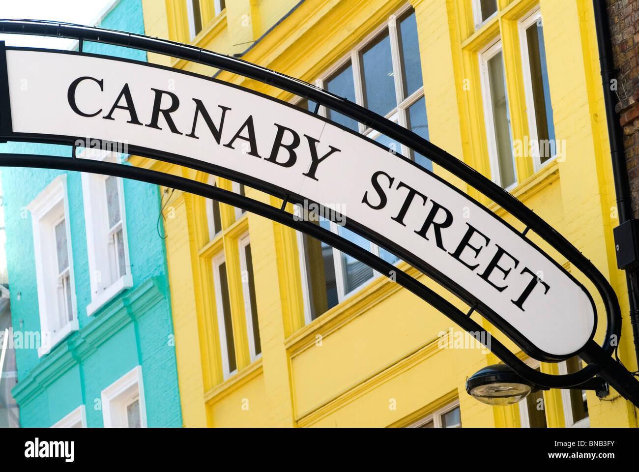 Carnaby Street. London W1 Uk.  HOMER SYKES - Stock Image