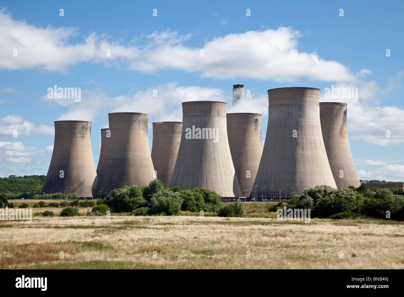 Ratcliffe-on-Soar power station Nottingham - Stock Image