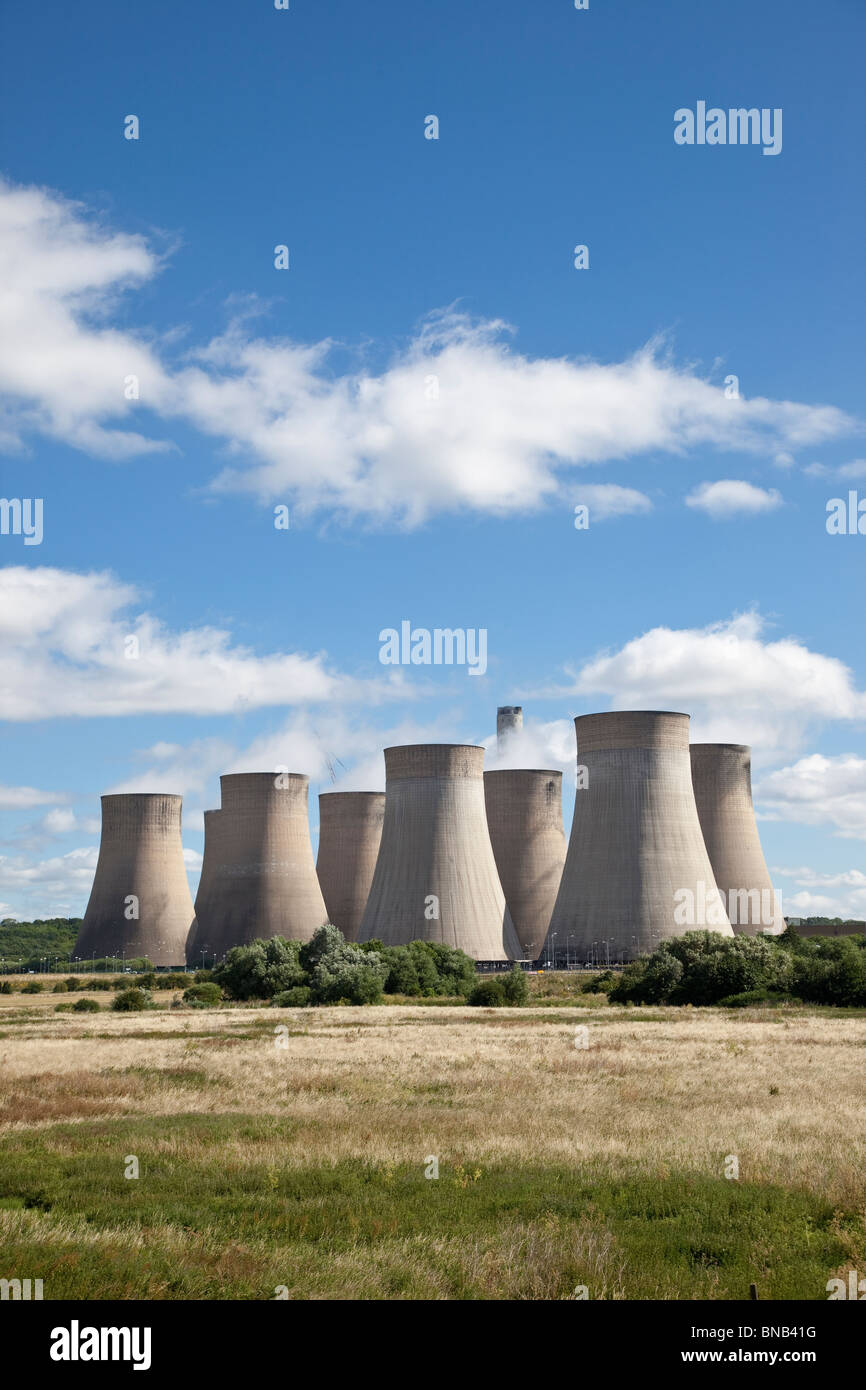 Ratcliffe-on-Soar power station, Nottingham - Stock Image