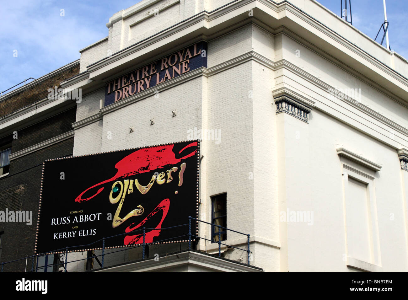 Oliver showing at the Theatre Royal Drury Lane London July 2010 Stock Photo