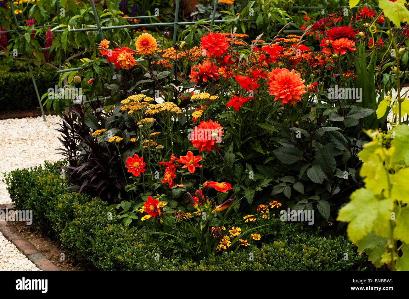 'Much Ado About Nothing' show garden at Hampton Court Flower Show 2010, London, United Kingdom Stock Photo