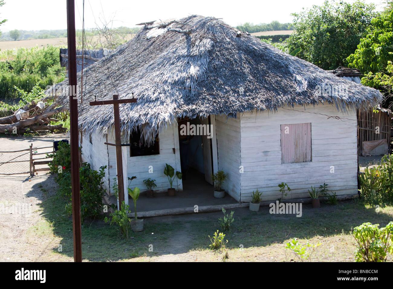 cuban house. - Stock Image