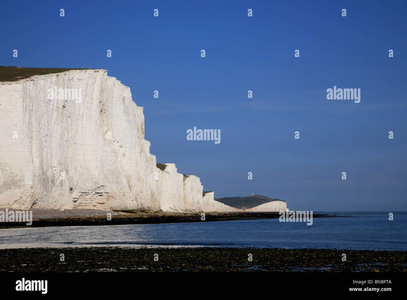 3233.Seven Sisters, Cuckmere Haven, East Sussex, UK Stock Photo