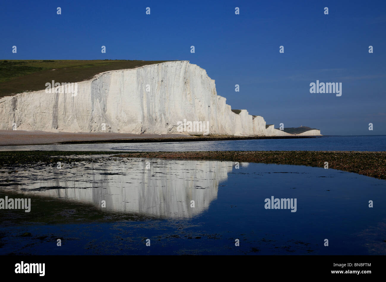 3237. Seven Sisters, Cuckmere Haven, East Sussex, UK Stock Photo