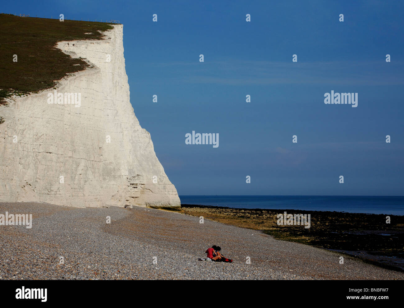 3244. Seven Sisters, Cuckmere Haven, East Sussex, UK Stock Photo