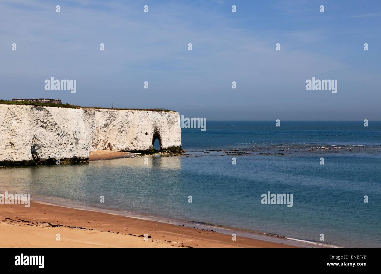 3267. Kingsgate Bay, near Broadstairs, Kent, UK - Stock Image