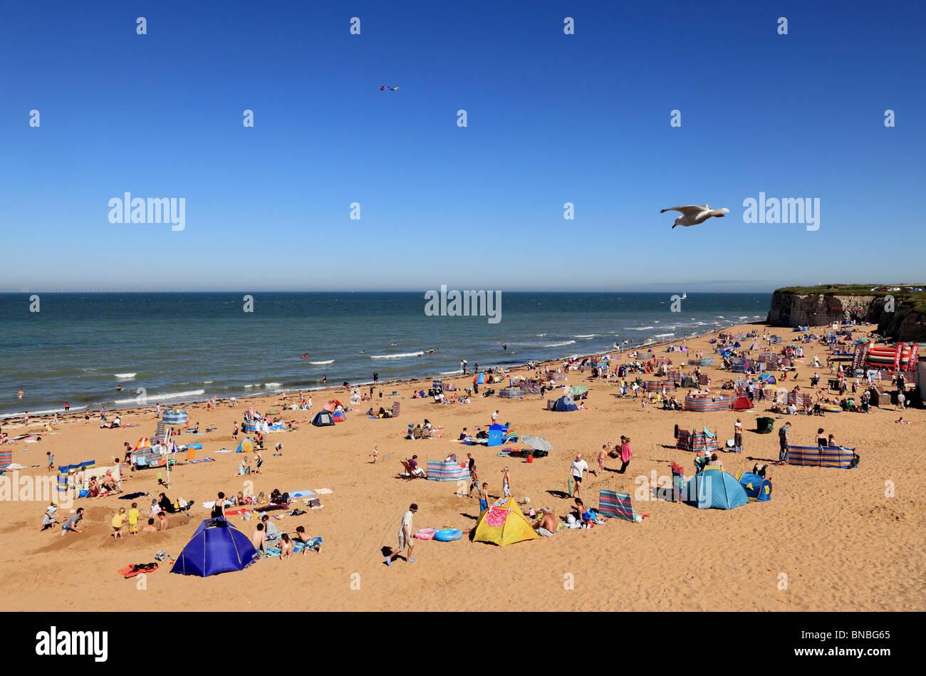 3152. Joss Bay, Broadstairs, Kent, UK - Stock Image