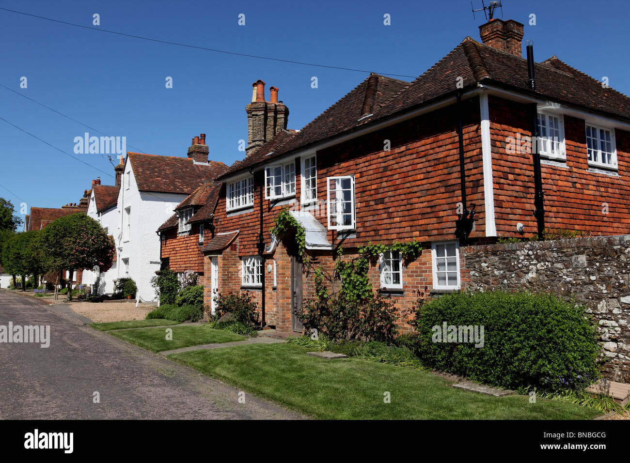 3190. Barrack Square, Winchelsea, East Sussex, UK - Stock Image