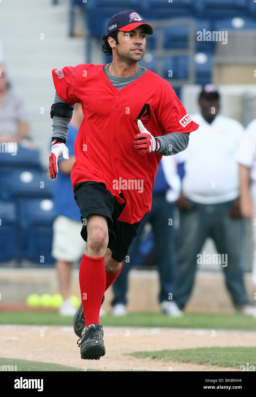 DANNY PINO THE STEVE GARVEY'S CELEBRITY SOFTBALL CLASSIC MALIBU CA 10 July 2010 - Stock Image
