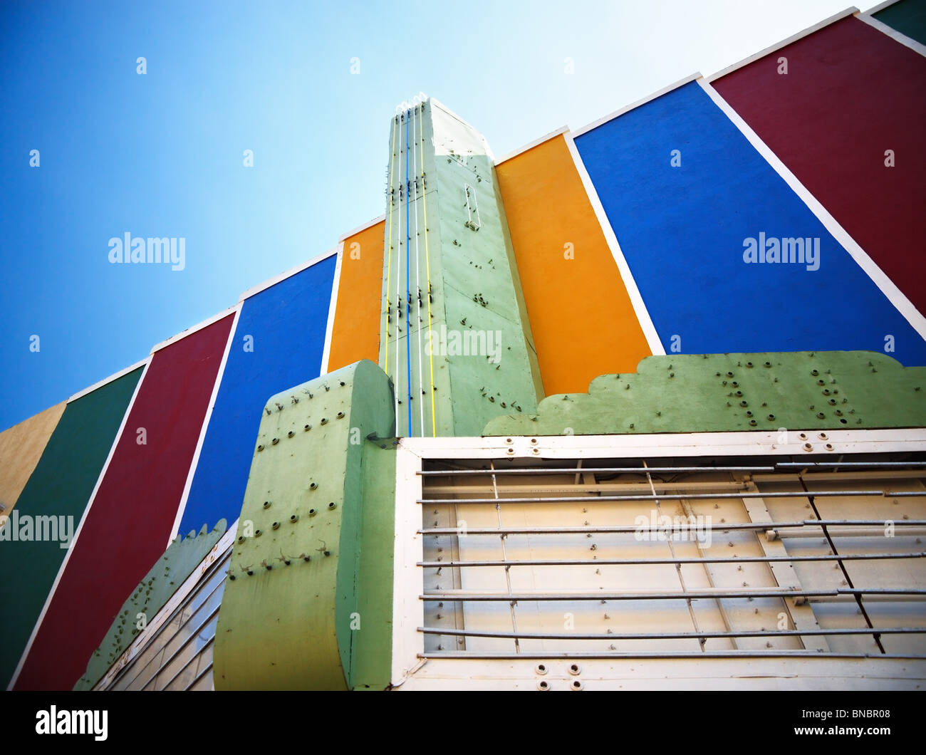 Art Deco Cinema in Natchez - Stock Image