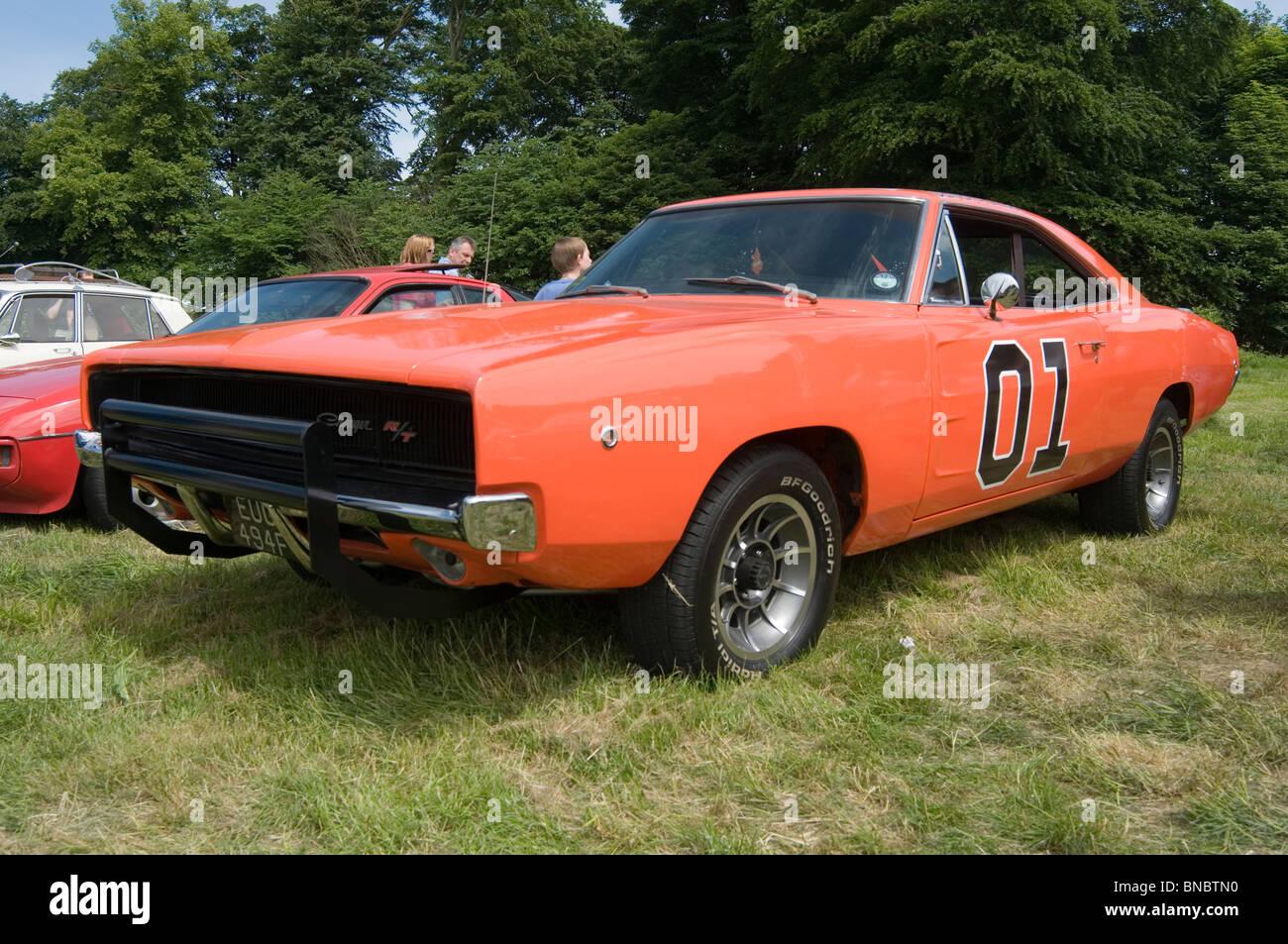 1969 Dodge Charger Mopar General Lee Replica Muscle Car Tv Show
