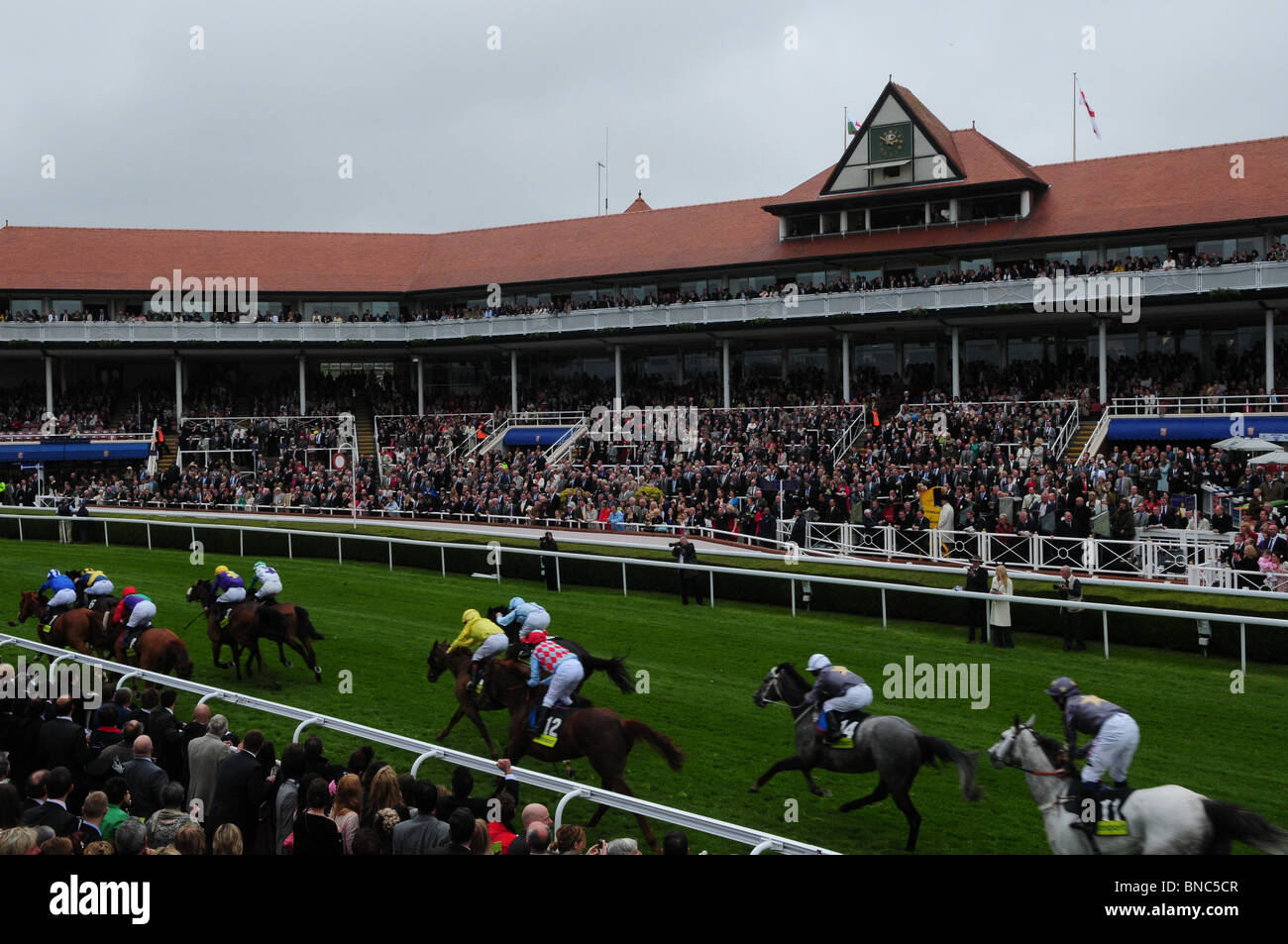 Ladies Day at Chester Races - Stock Image