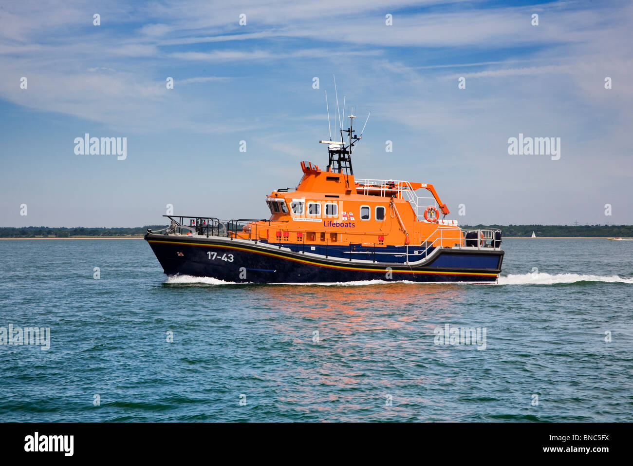RNLI Severn Class Lifeboat '17-43' RNLB DONALD & BARBARA BROADHEAD - Stock Image