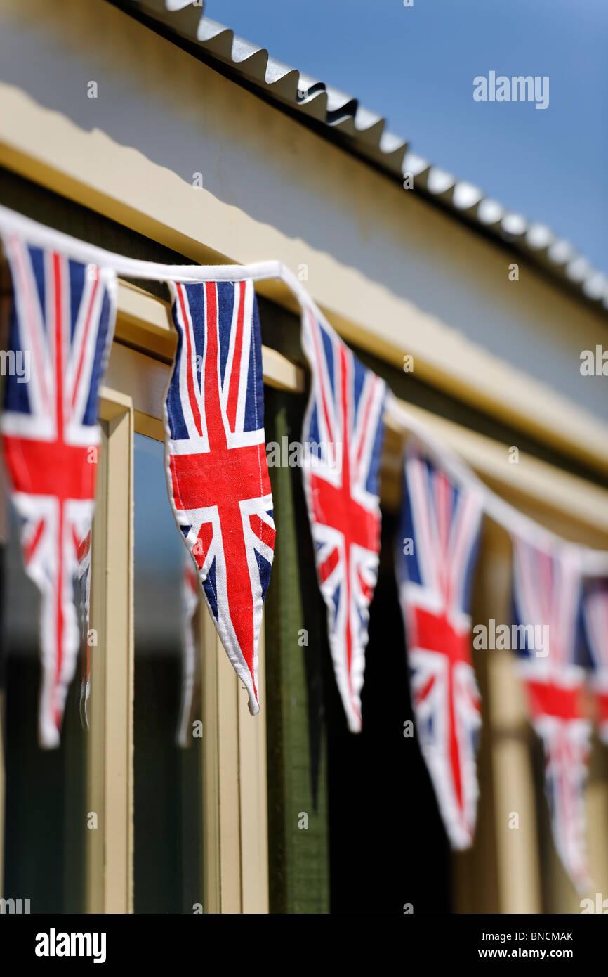 Patriotic Bunting - Stock Image