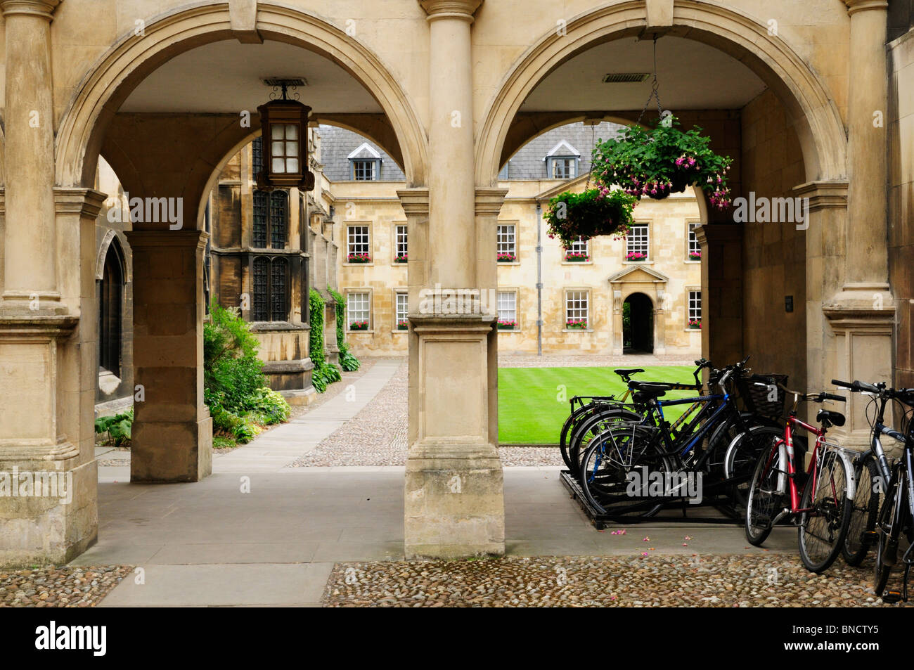 Peterhouse College, Cambridge, England, UK - Stock Image