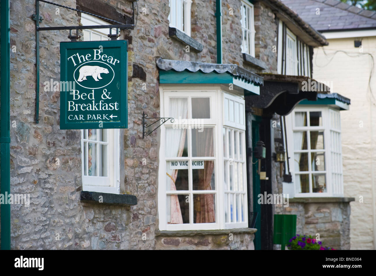 THE BEAR Bed And Breakfast Guest House In Hay On Wye Powys Wales UK