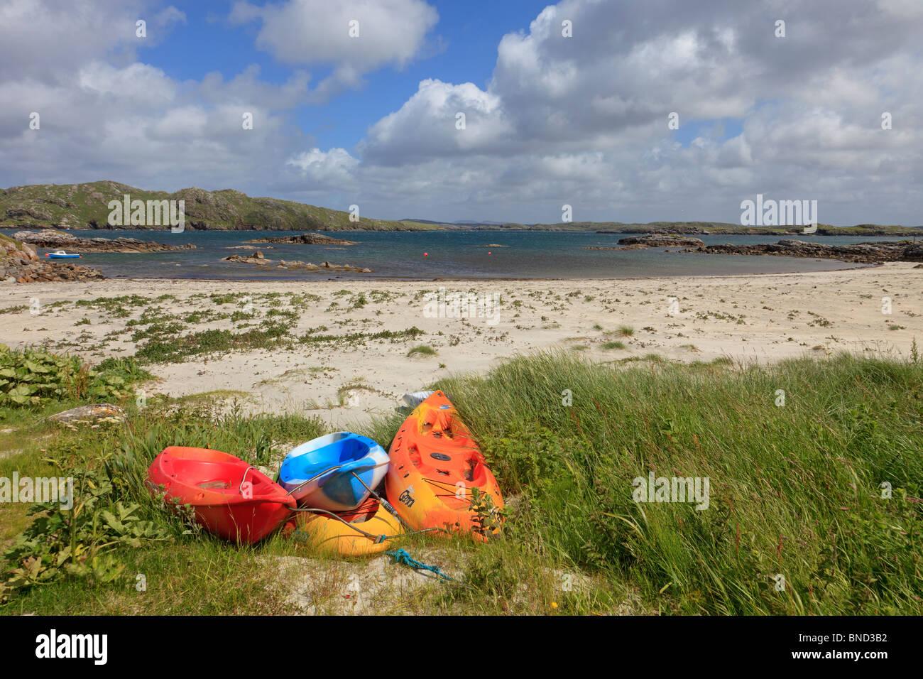 Valtos beach, Isle of Lewis, Outer Hebrides, Scotland - Stock Image