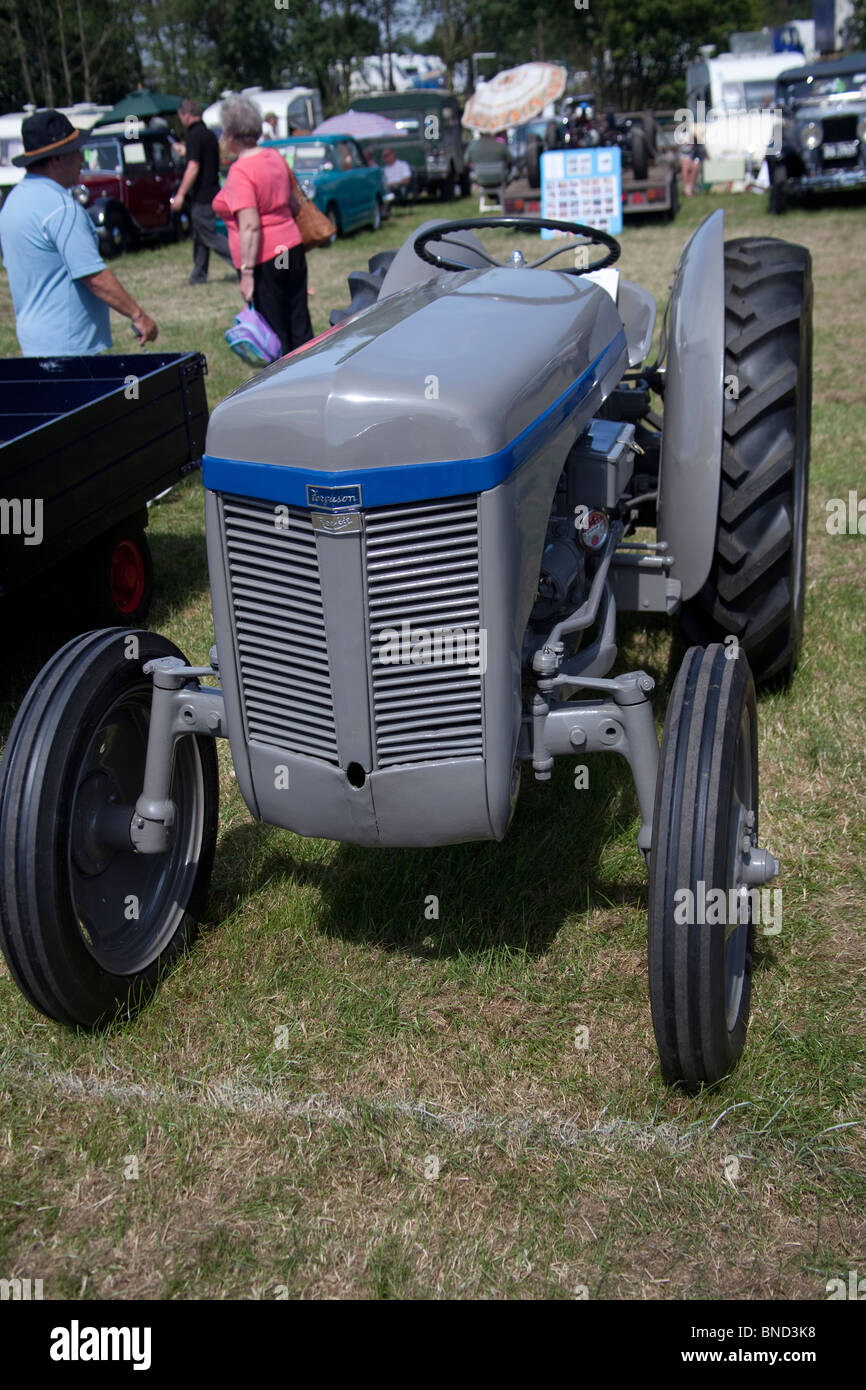 Vintage Ferguson Reekie tractor on display at Cheshire Show, Knutsford, England. - Stock Image