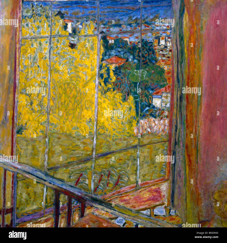 Studio in Mimosa by Pierre Bonnard, (1867-1947), France, Paris, Musee National d'Art de Moderne - Stock Image