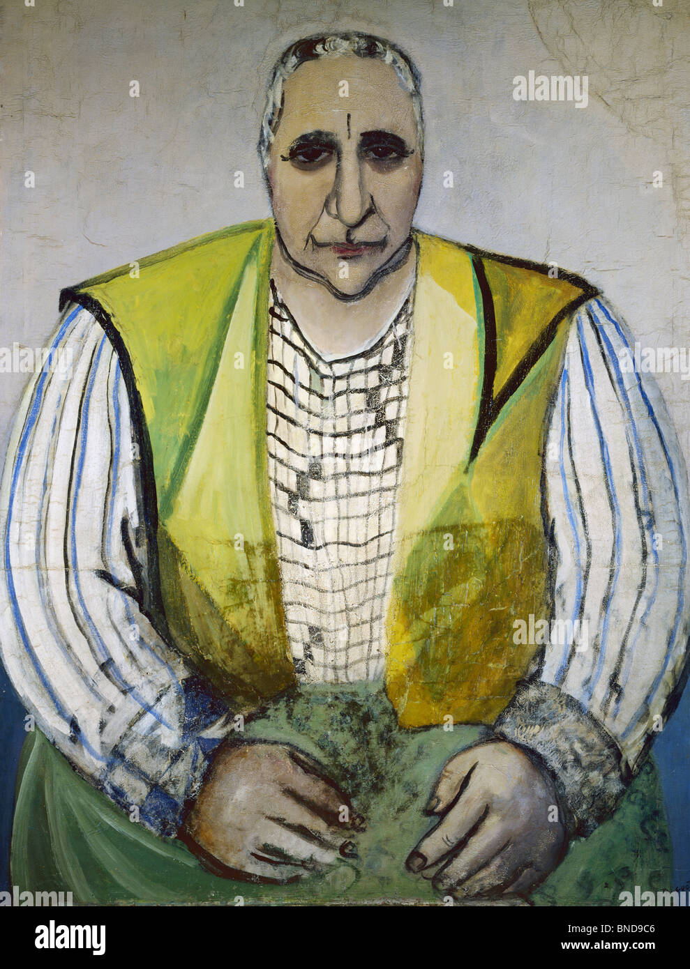 Portrait of Gertrude Stein by Pierre Tal-Coat, 1935, (1905-1985) - Stock Image