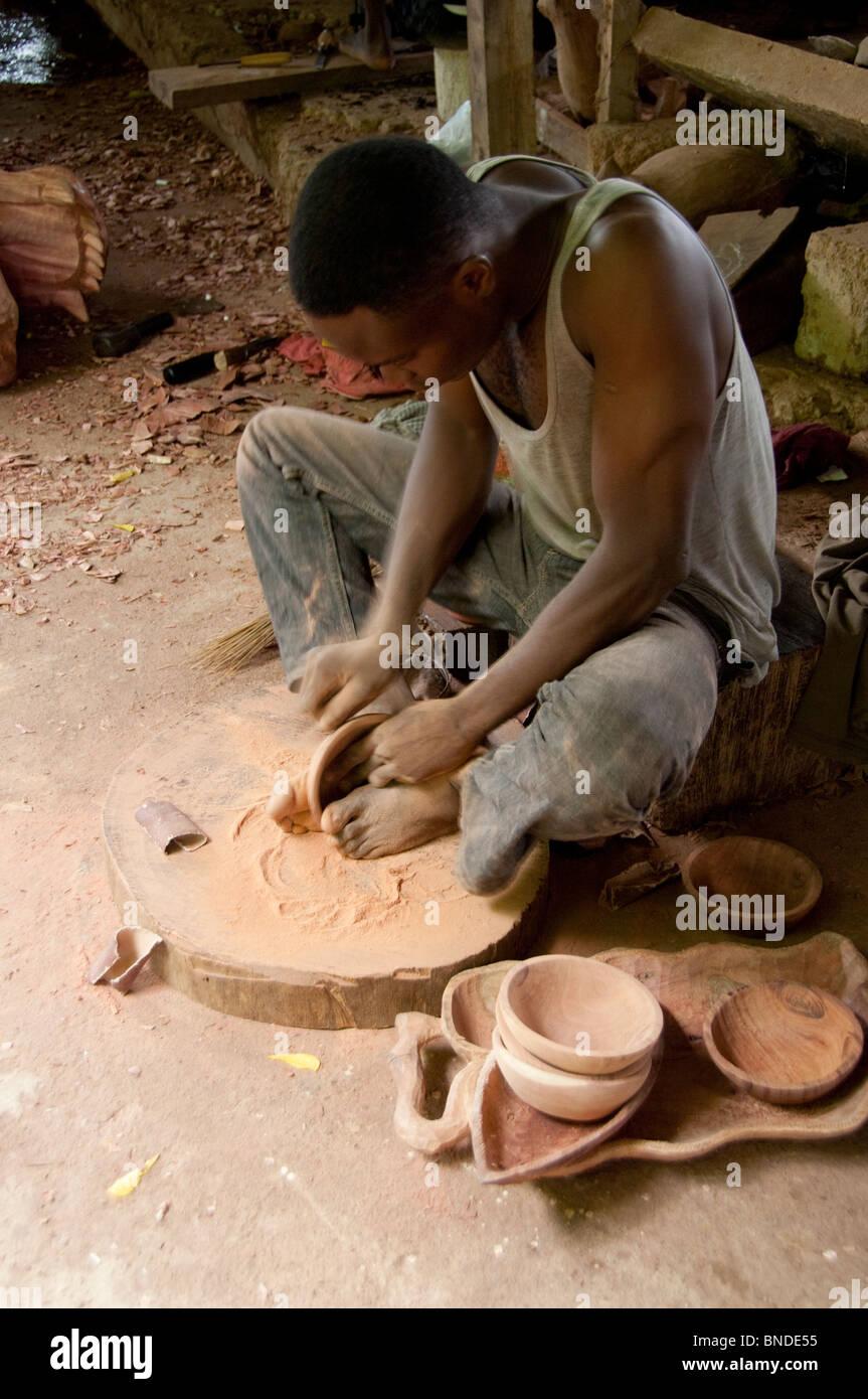Africa Togo Kpalime Artisan Handicraft Center Training School