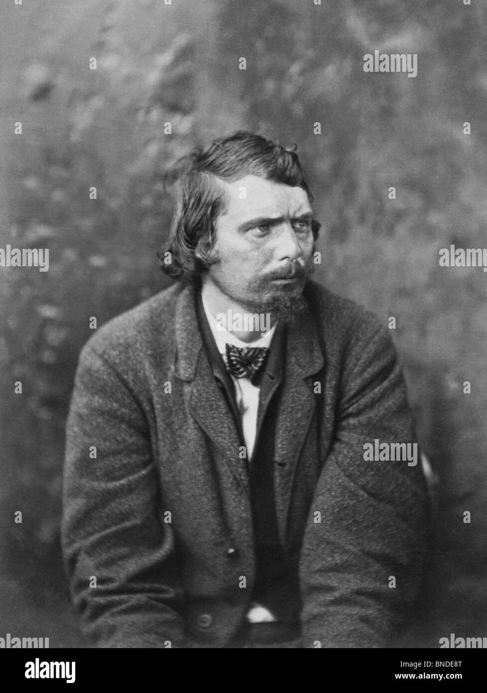 Conspirator George Atzerodt in irons after the assassination of US President Abraham Lincoln in April 1865 - he - Stock Image