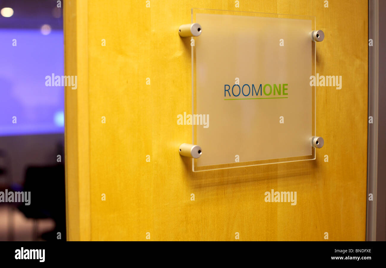 conference room sign on modern wooden door stock photo 30416022 alamy