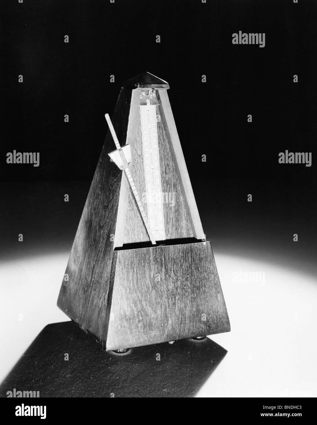 Close-up of a Metronome - Stock Image