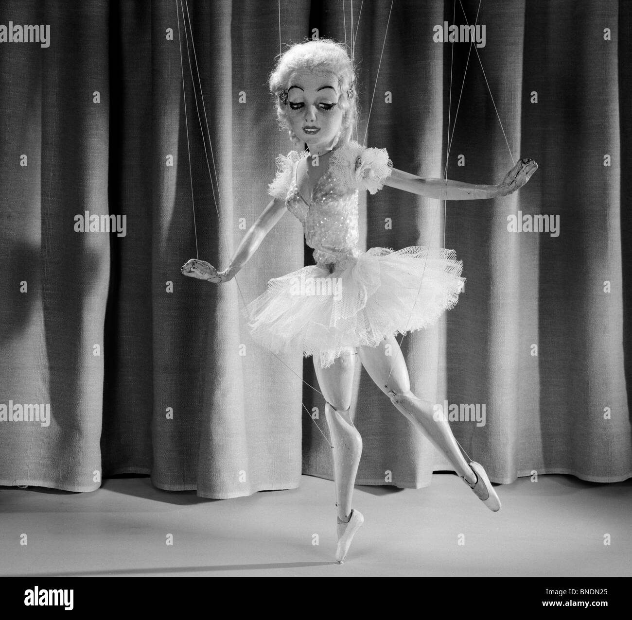 female marionette dancing stock photo 30420045 alamy