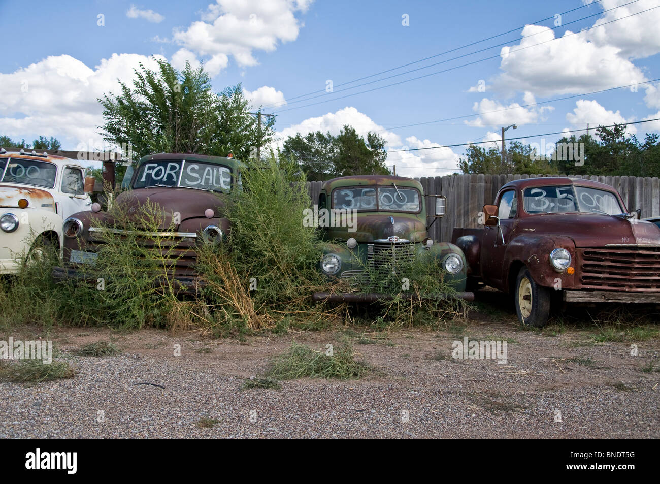 Rusty cars for sale, Tijeras, Route 66, Albuquerque, New Mexico, USA ...