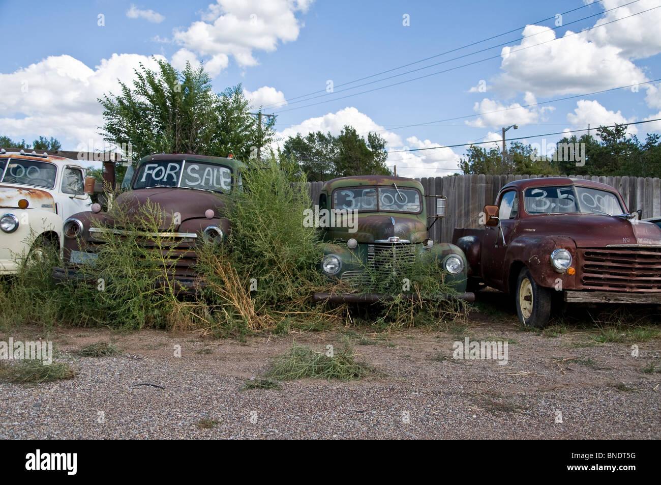 Rusty Cars For Sale, Tijeras, Route 66, Albuquerque, New