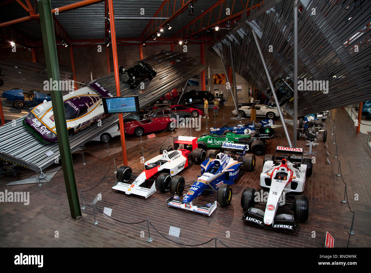 vehicles in the beaulieu motor museum racing cars including formula 1 stock photo 30423391 alamy. Black Bedroom Furniture Sets. Home Design Ideas