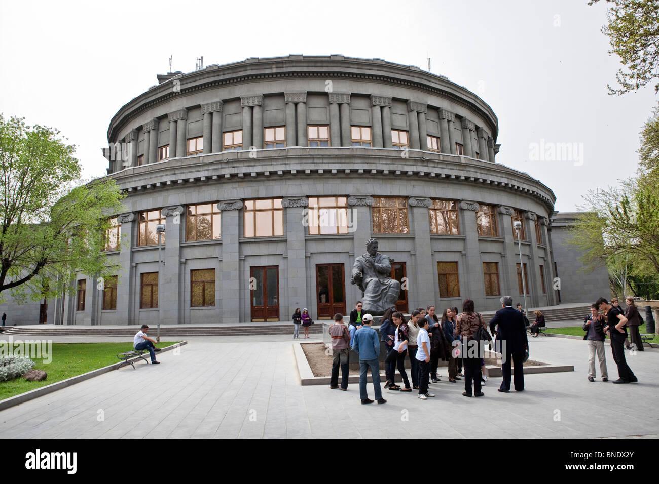Opera House, concert hall, Yerevan, Armenia - Stock Image