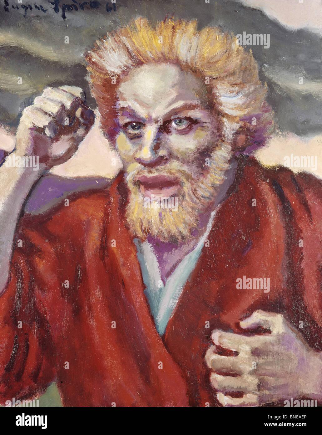 Zephaniah by Eugen Spiro, 1874-1972 - Stock Image
