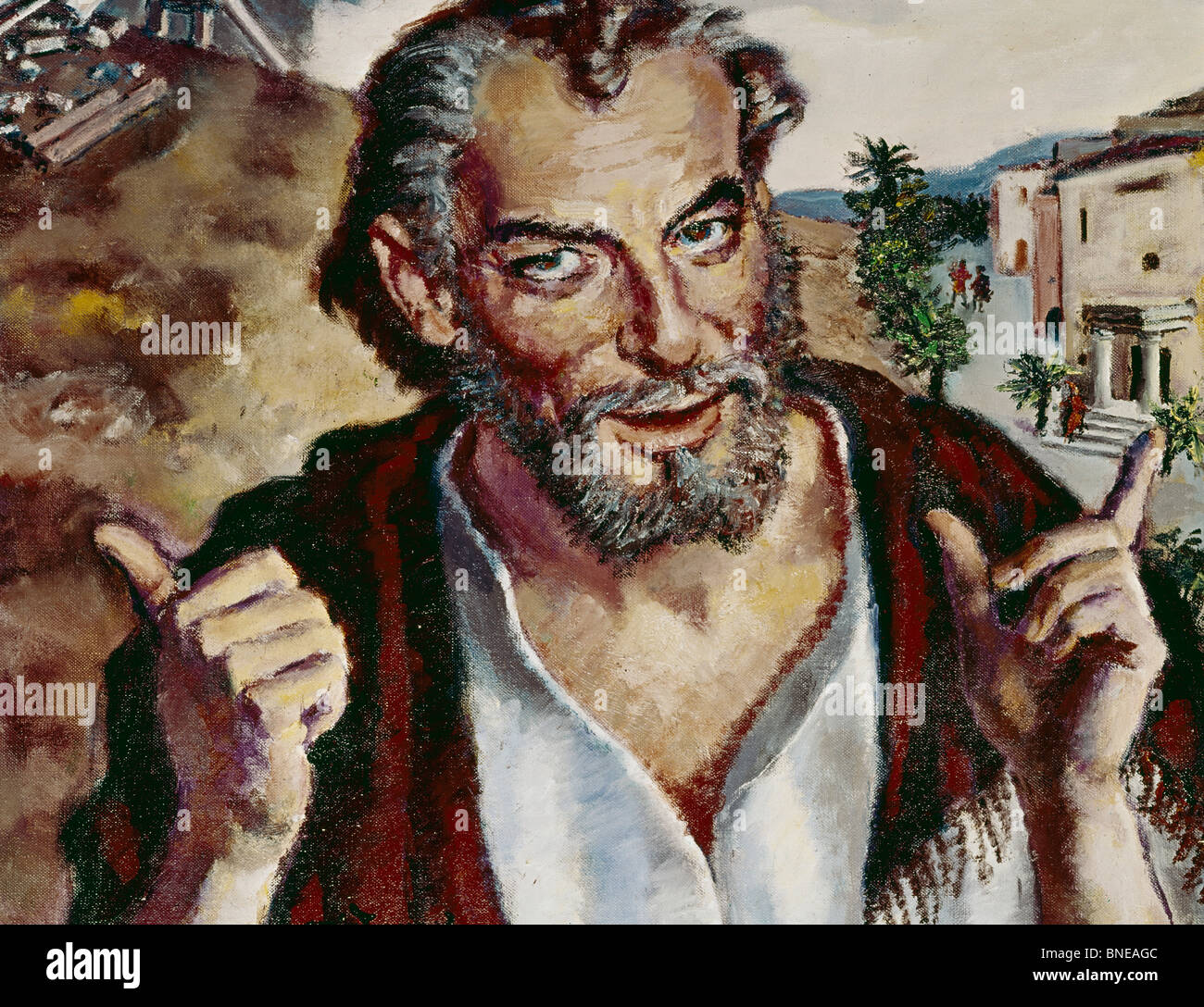 Haggai,  by Eugen Spiro,  (1874-1972) - Stock Image