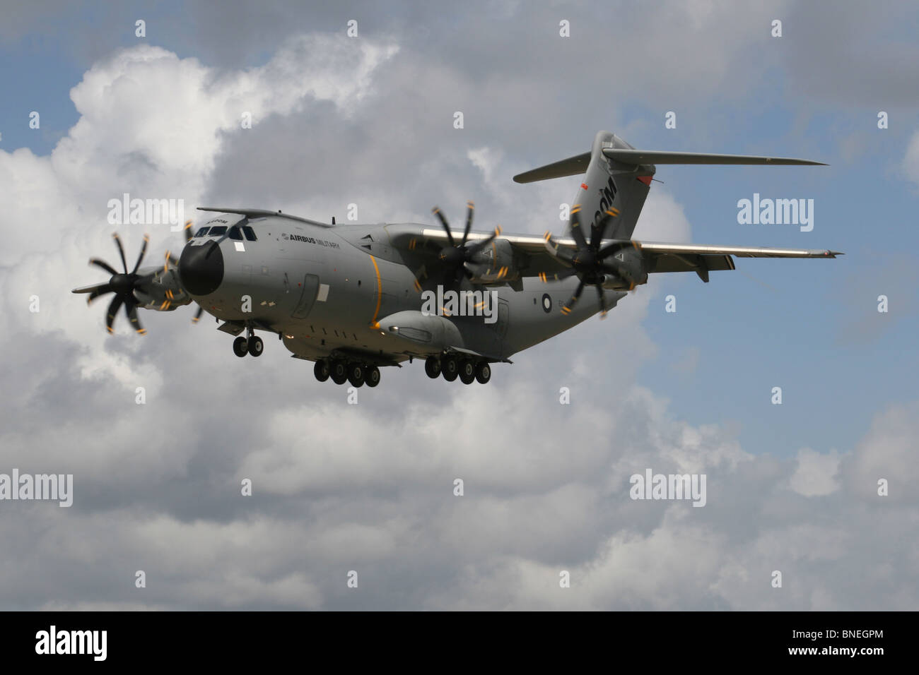 AIRBUS A400M TRANSPORT PLANE - Stock Image