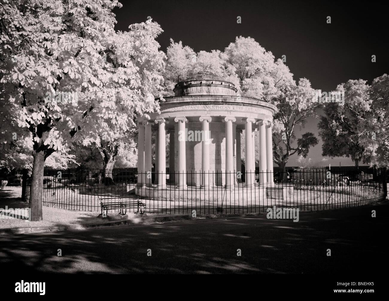 Maitland Rotunda - Corfu Town - Stock Image