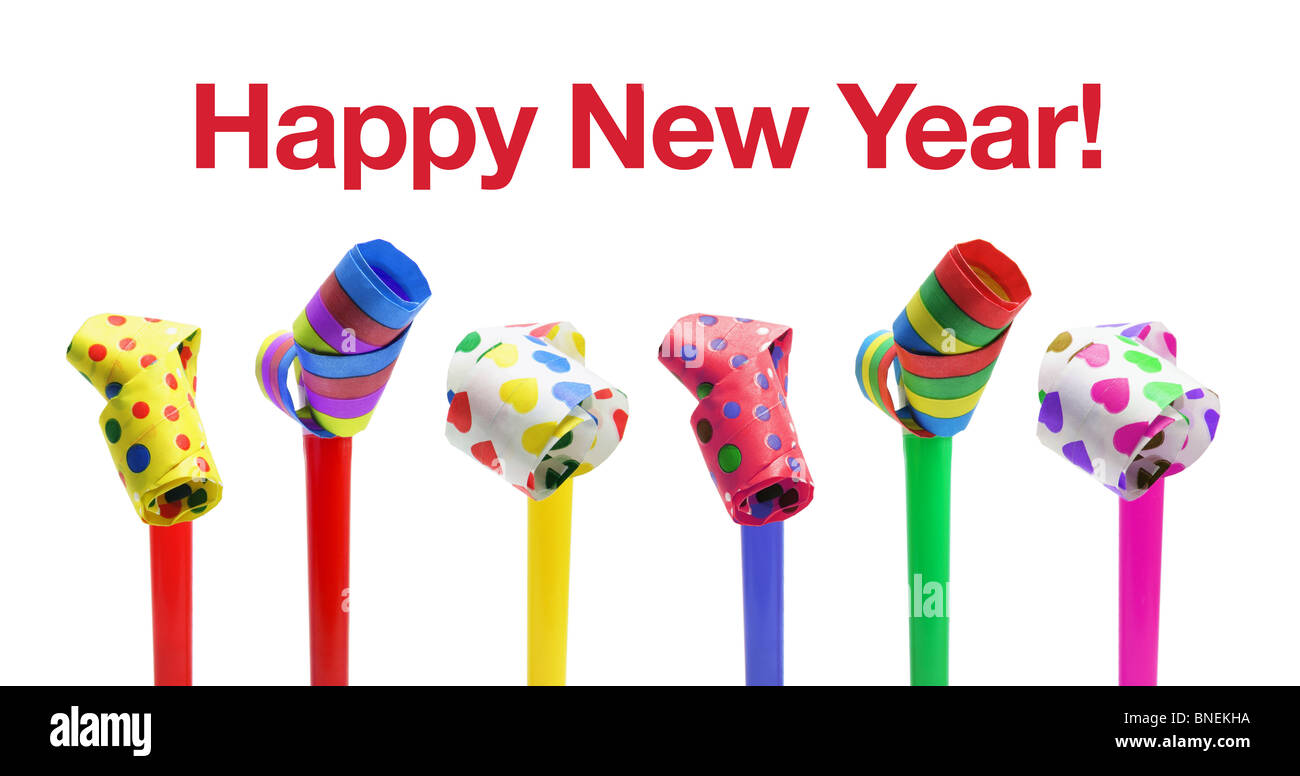 Happy New Year Concept - Stock Image