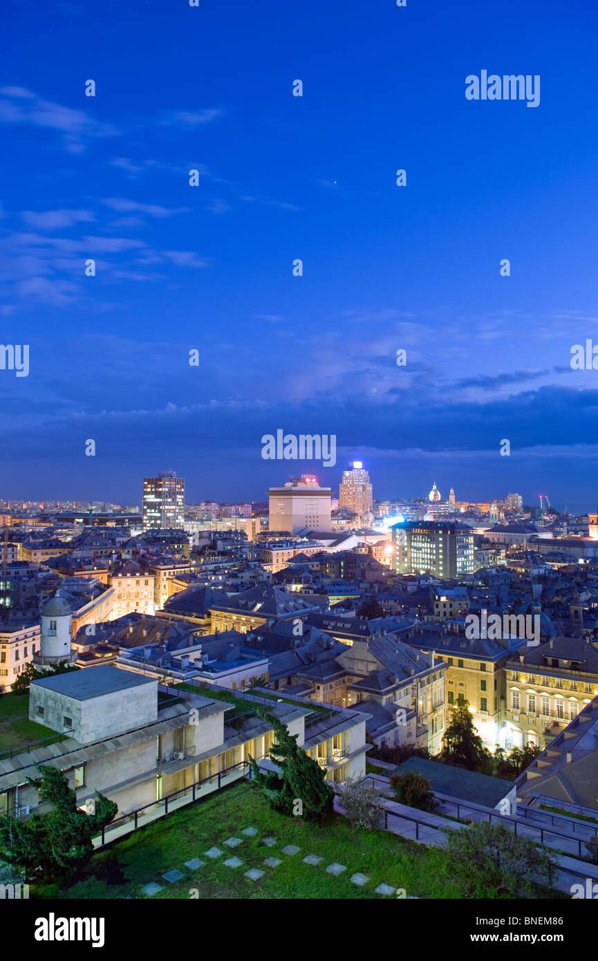 Unesco World Heritage Old Town, Genoa, Genova, Liguria, Italy Europe - Stock Image