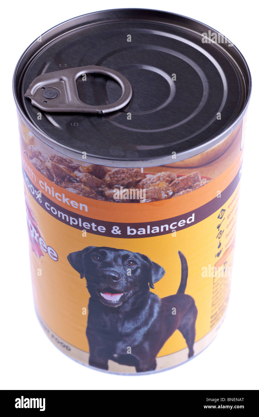 Can Of Dog Food Stock Photos Can Of Dog Food Stock Images Alamy