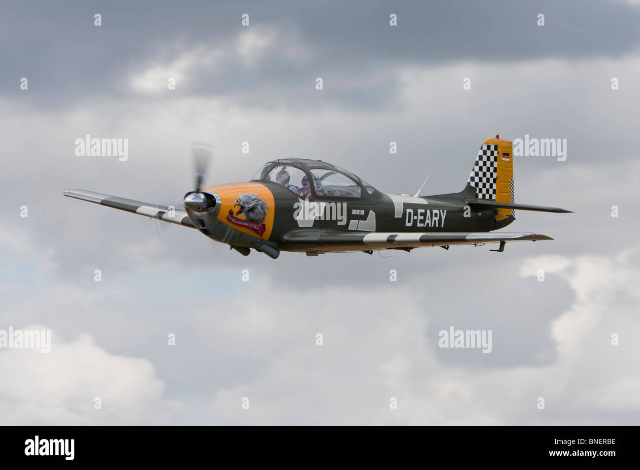 Focke-Wulf FWP-149D, reg. D-EARY, at Breighton - Stock Image