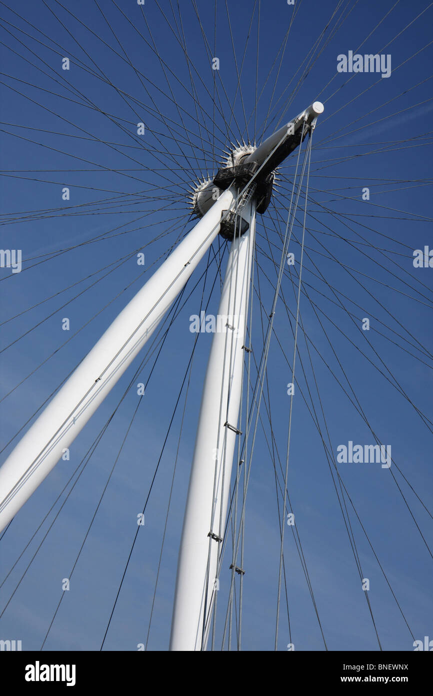 London Eye, UK - Stock Image