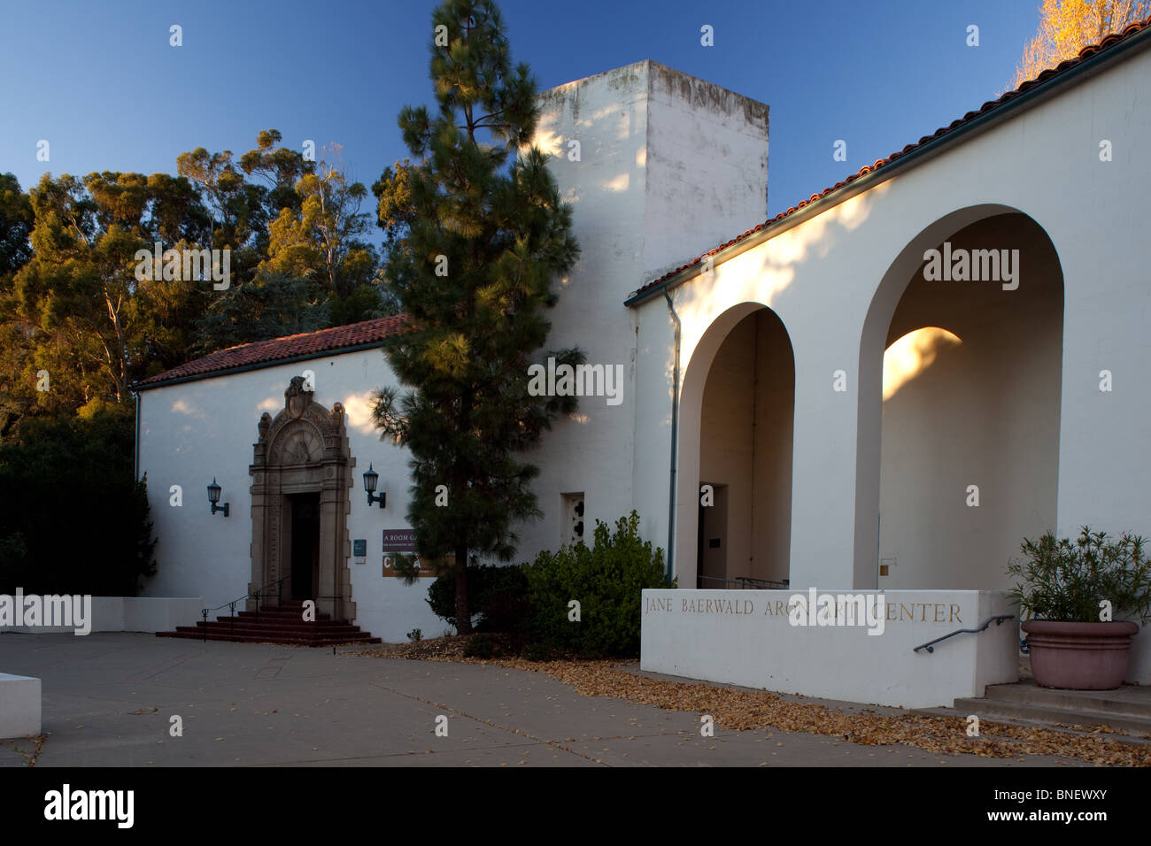 Jane Baerwald Aron Art Center at Mills College in Oakland CA. - Stock Image