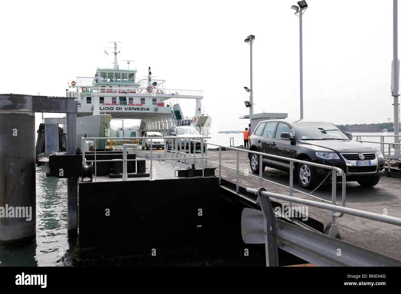 Car ferry Lido Island Venice Italy Stock Photo: 30445984 - Alamy